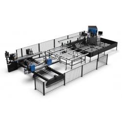 Centru CNC sudura+debavurare