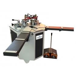 Masina de sertizat profile din aluminiu, pneumatica