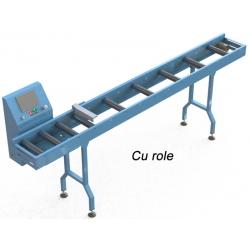 Conveior de măsură automat, cu role